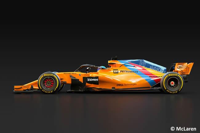 MCL33 - McLaren - Fernando Alonso - 2018