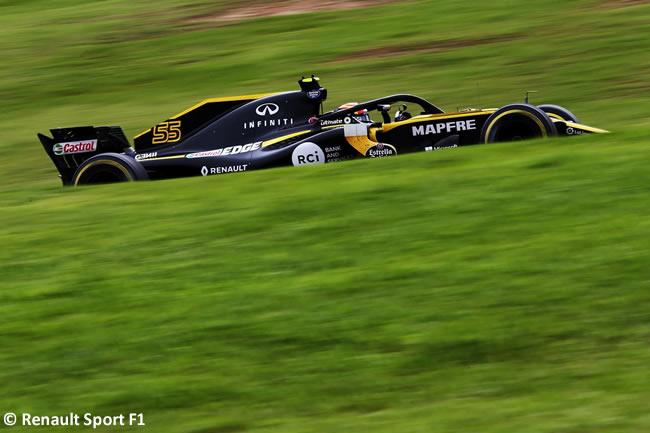 Carlos Sainz - Renault - Entrenamientos Gran Premio de Brasil 2018 - Interlagos