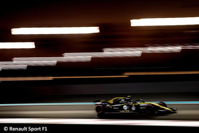 Carlos Sainz - Renault - Clasificación - GP Abu Dhabi 2018