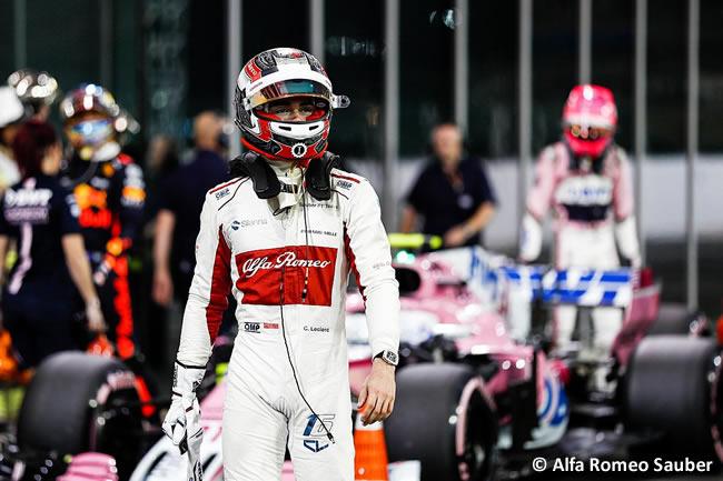 Charles Leclerc - Alfa Romeo Sauber - Clasificación - GP Abu Dhabi 2018