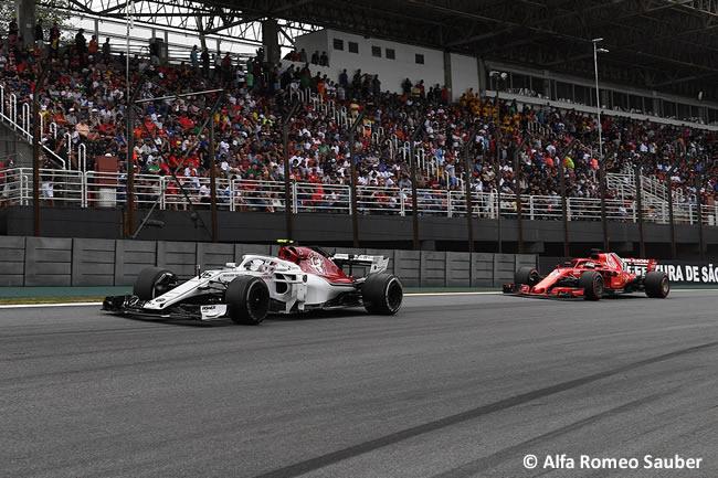 Charles Leclerc - Alfa Romeo Sauber - GP Brasil 2018 - Carrera