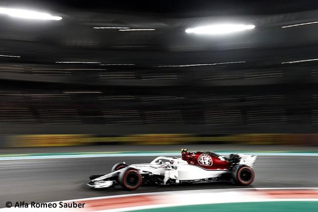 Charles Leclerc - Alfa Romeo Sauber - Carrera - GP Abu Dhabi 2018