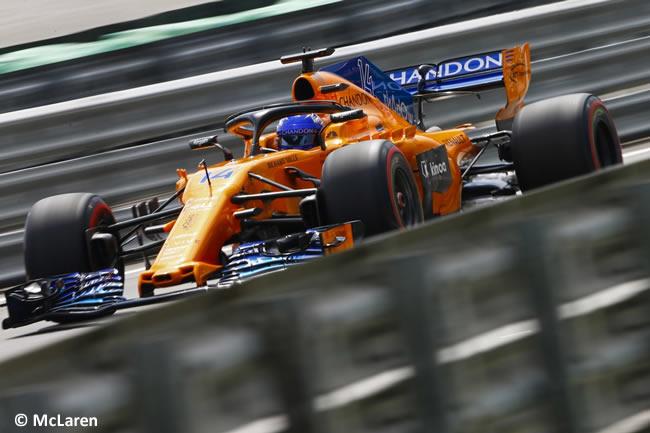 Fernando Alonso - McLaren - Clasificación GP Brasil 2018