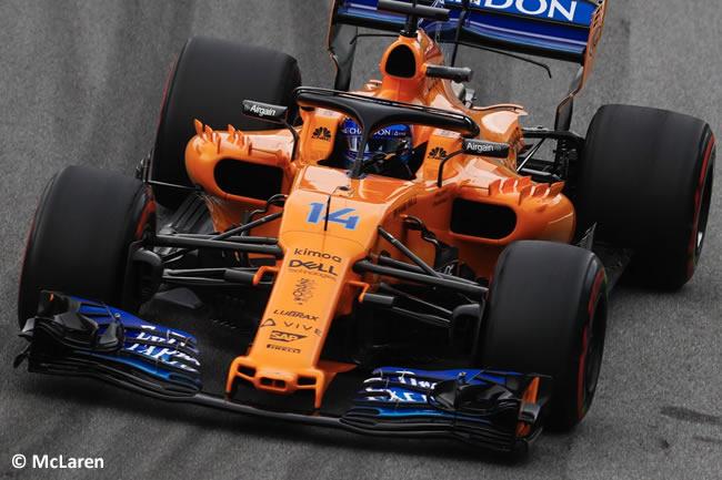Fernando Alonso - McLaren - Entrenamientos Gran Premio de Brasil 2018 - Interlagos