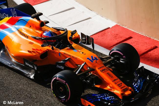 Fernando Alonso - McLaren - Clasificación - GP Abu Dhabi 2018