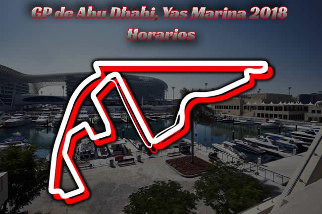 Horarios Gran Premio de Abu Dhabi 2018