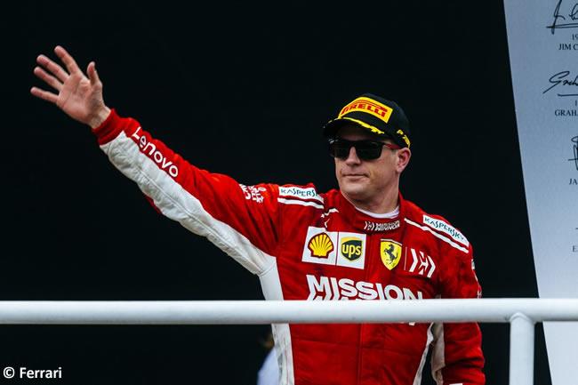 Kimi Raikkonen - Scuderia Ferrari - GP Brasil 2018 - Carrera