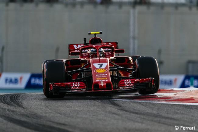 Kimi Raikkonen - Scuderia Ferrari - GP Abu Dhabi 2018