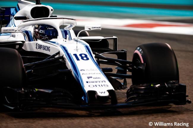 Lance Stroll - Williams - GP Abu Dhabi 2018