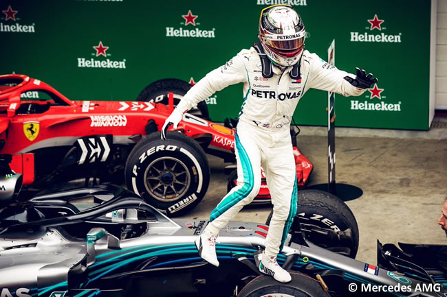 Lewis Hamilton - Mercedes - GP Brasil 2018 - Carrera