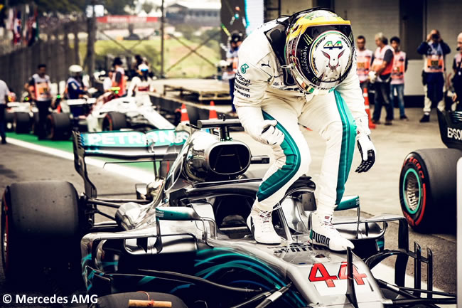Lewis Hamilton - McLaren - Clasificación GP Brasil 2018