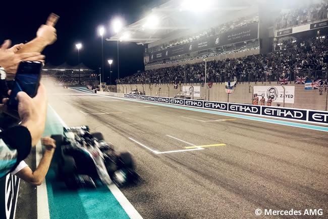 Lewis Hamilton - Mercedes AMG - Carrera - GP Abu Dhabi 2018
