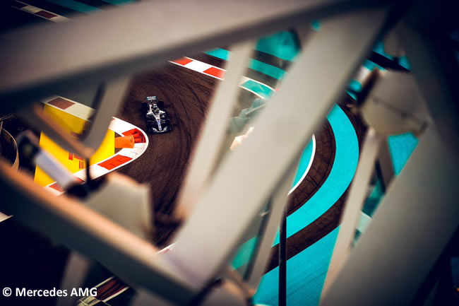 Lewis Hamilton - Mercedes - GP Abu Dhabi 2018