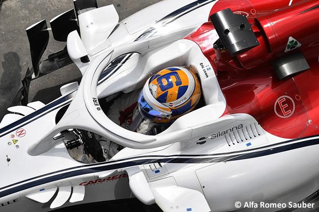 Marcus Ericsson - Alfa Romeo Sauber - Clasificación GP Brasil 2018
