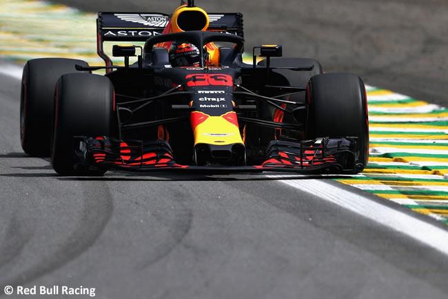 Max Verstappen - Red Bull - Clasificación GP Brasil 2018