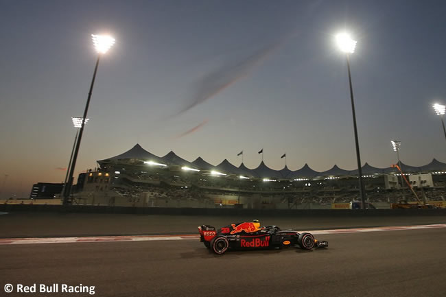 Max Verstappen - Red Bull - Clasificación - GP Abu Dhabi 2018