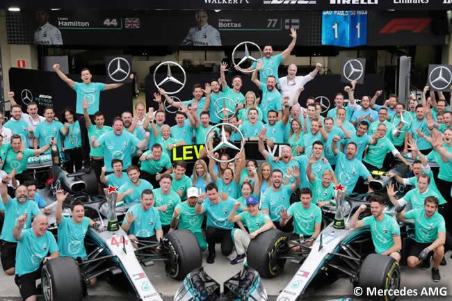 Mercedes AMG - Campeón Construtores 2018