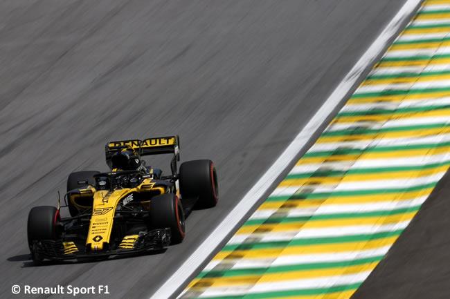 Nico Hulkenberg - Renault - Clasificación GP Brasil 2018