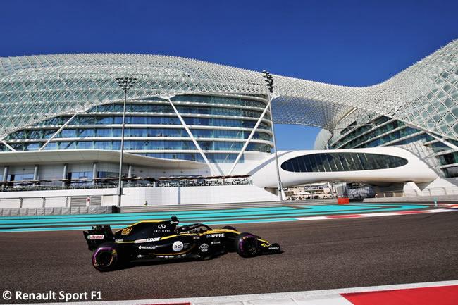 Nico Hulkenberg - Renault - GP Abu Dhabi 2018