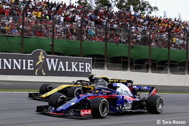 Pierre Gasly - Toro Rosso - GP Brasil 2018 - Carrera