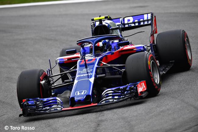 Pierre Gasly - Toro Rosso - Clasificación GP Brasil 2018