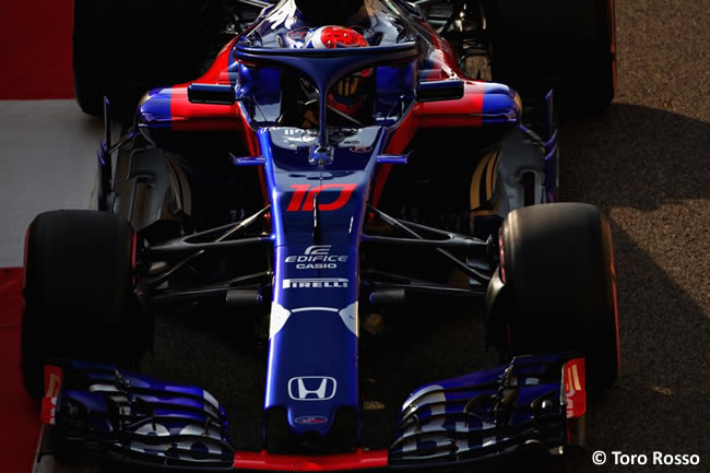 Pierre Gasly - Toro Rosso - Clasificación - GP Abu Dhabi 2018