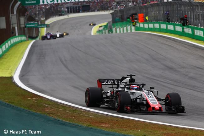 Romain Grosjean - Haas - GP Brasil 2018 - Carrera