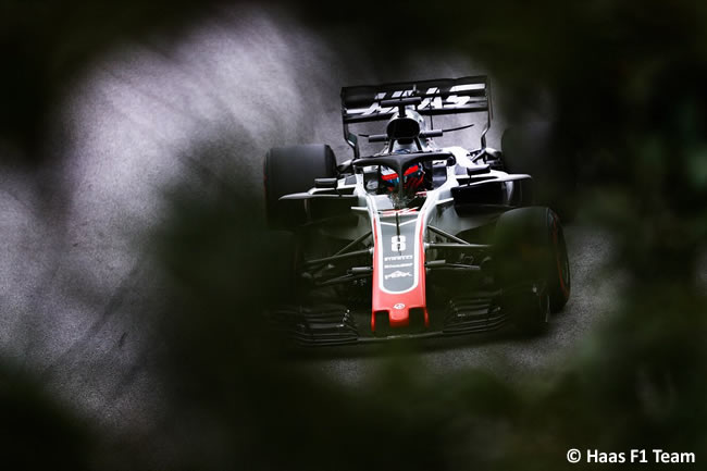 Romain Grosjean - Haas - Clasificación GP Brasil 2018