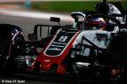 Romain Grosjean - Haas F 1 - Clasificación - GP Abu Dhabi 2018