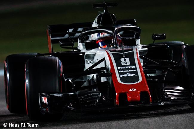 Romain Grosjean - Haas F1 - Carrera - GP Abu Dhabi 2018