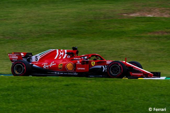 Sebastian Vettel - Scuderia Ferrari - Entrenamientos Gran Premio de Brasil 2018 - Interlagos