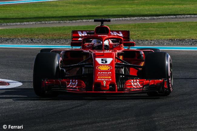 Sebastian Vetel - Scuderia Ferrari - Clasificación - GP Abu Dhabi 2018