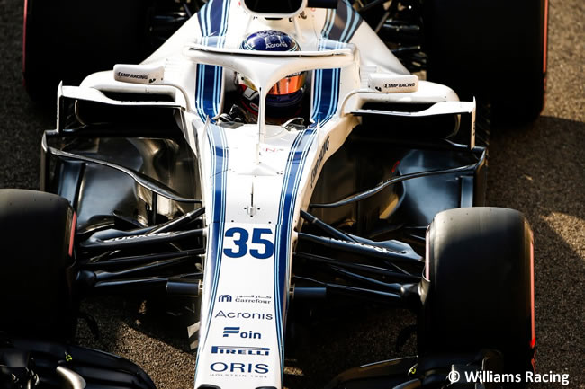 Sergey Sirotkin - Williams - Clasificación - GP Abu Dhabi 2018