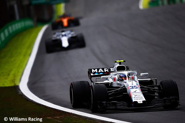 Sergey Sirotkin - Williams - GP Brasil 2018 - Carrera