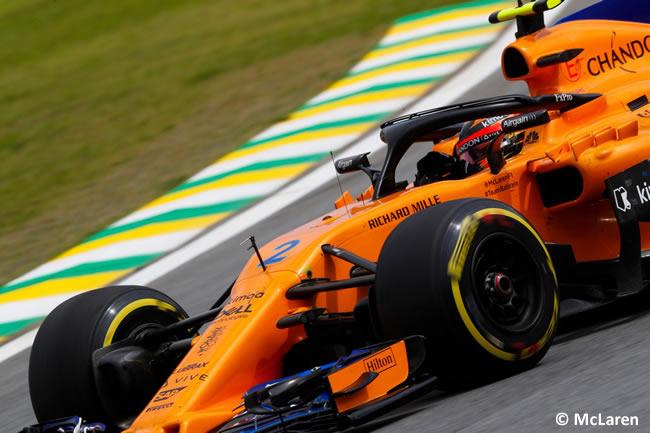 Stoffel Vandoorne - McLaren - GP Brasil 2018 - Carrera