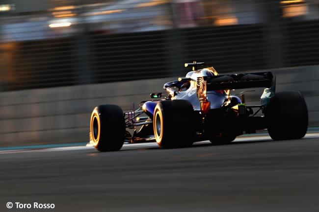 Toro Rosso - GP Abu Dhabi 2018