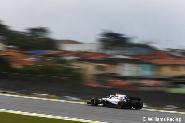 Williams - Entrenamientos Gran Premio de Brasil 2018 - Interlagos