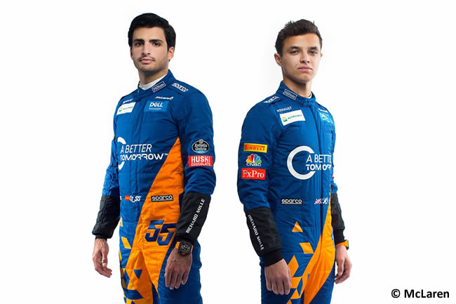 McLaren -2019 - Carlos Sainz - Lando Norris