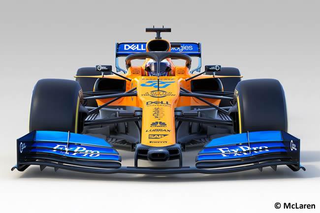 McLaren - MCL34 - 2019 - Frontal
