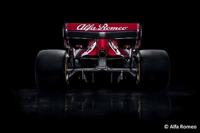 Alfa Romeo C34 - Trasera