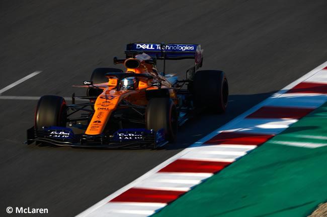 Carlos Sainz - McLaren - MCL34 - Test 2 - Pretemporada 2019 - Día 2 - 6