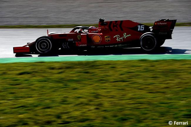 Charles Leclerc- Scuderia Ferrari - SF70 - Día 2