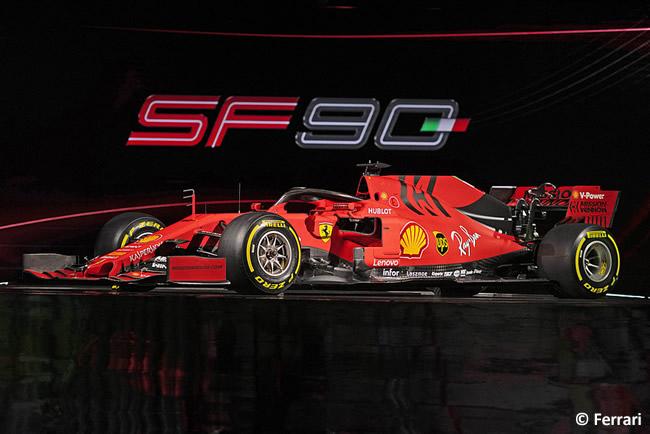 Ferrari - SF90 - Lateral 2019 - Presentación
