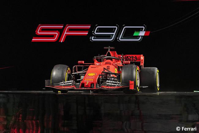 Ferrari - SF90 - Frontal 2019 - Presentación