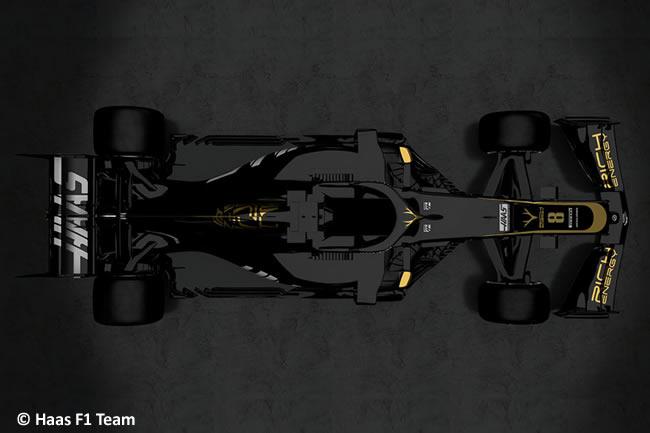 Haas F1 - VF19 -2019 - Top