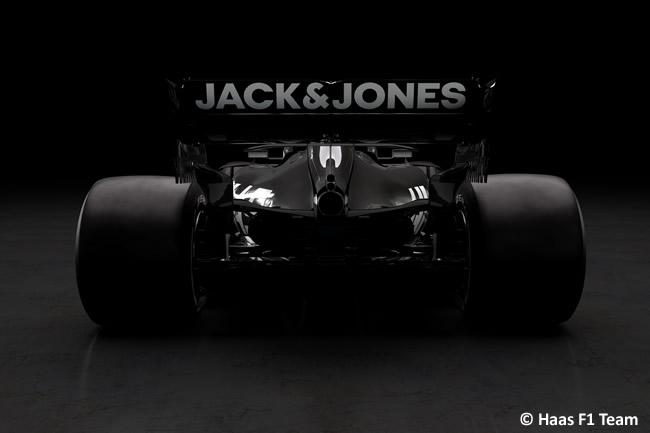 Haas F1 - VF19 -2019 - Trasera