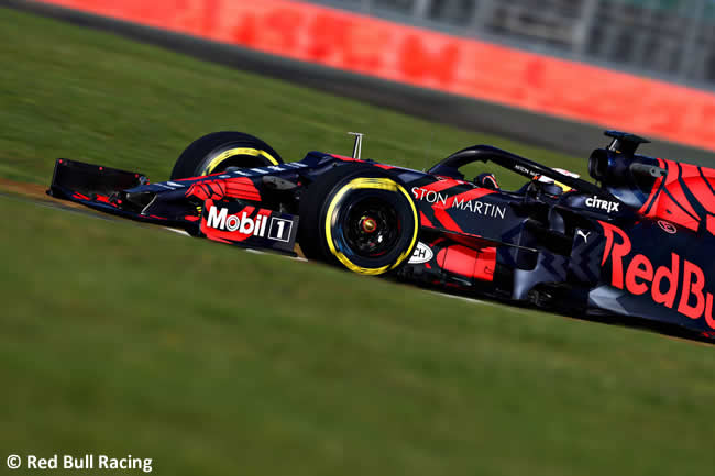 Red Bull Racing - RB15 - Lateral 2019 - Pista