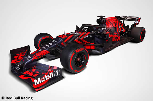 Red Bull Racing - RB15 - Lateral 2019