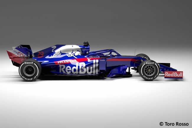 Scuderia Toro Rosso - STR14 - Lateral