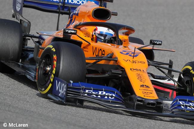 Carlos Sainz - McLaren - Clasificación GP Bahréin 2019